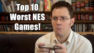 Top 10 Worst NES Games - AVGN Clip Collection