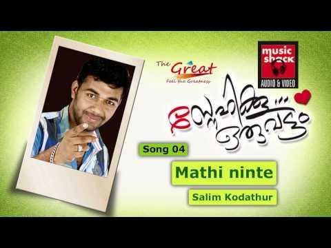 Saleem Kodathoor New Mappila Album Song - Mathiyinininte Kibalakku...