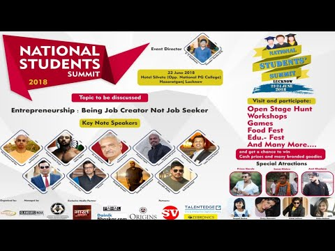 National Student Summit Lucknow India Biggest Youth Fest