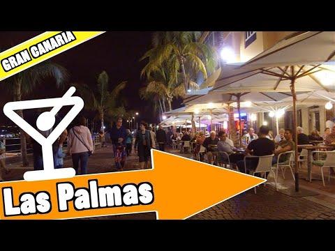 Las Palmas de Gran Canaria Spain: Evening and nightlife