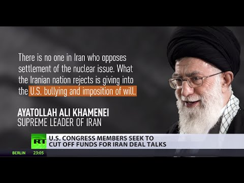 US Congress members seek to cut off funds for Iran deal talks