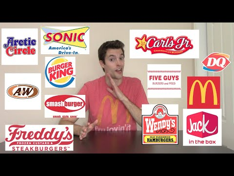 What is the Best Fast Food Burger?
