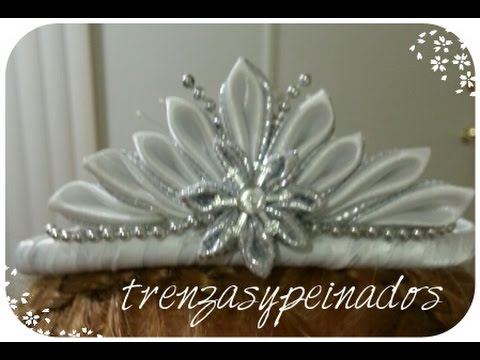 Como hacer una diadema de corona para primera comunion - Manualidades para primera comunion ...