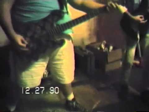 THE SLUGS - Practice at The Warehouse - December 27, 1990 - New Orleans, LA.