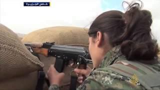 قوات حماية الشعب الكردية توسع معاركها مع تنظيم الدولة