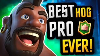 #1 BEST HOG PLAYER EVER! Is he HUMAN?! 2.6 HOG CYCLE DECK!