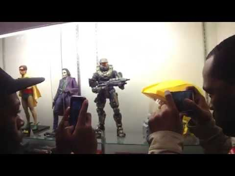 NECA Booth at the  Con 2014