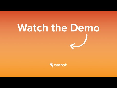 [Carrot Demo] — See Behind The Scenes Of Carrot's Real Estate Software Platform