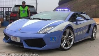 POLICE Lamborghini Gallardo LP560-4 Accelerations