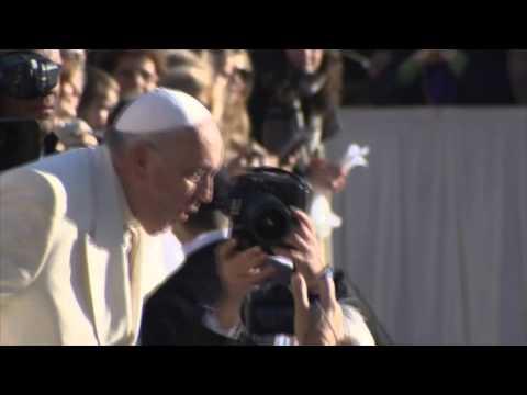 Un tango géant au Vatican pour l'anniversaire du pape François
