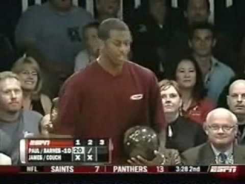 2008 Chris Paul PBA Celebrity Invitational - Lebron James/Jason Couch vs. Chris Paul/Chris Barnes (Part 1) Video