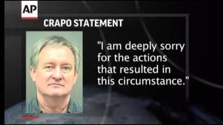 Idaho U.S. Sen. Michael Crapo arrested & charged with DUI - www.CorruptionCripples.com