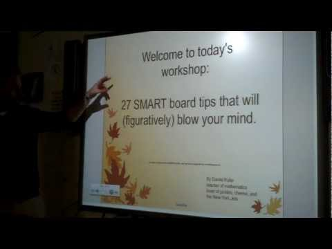 27 SMART board tips and tricks (part 1)