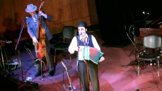 The Tiger Lillies (UK) -VAGINA. Live in Moscow. april 2011