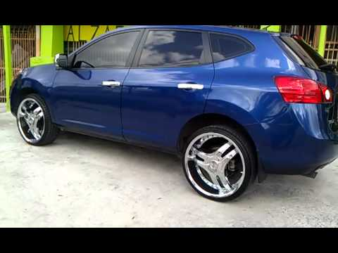 09 Nissan Rogue On 22s Youtube
