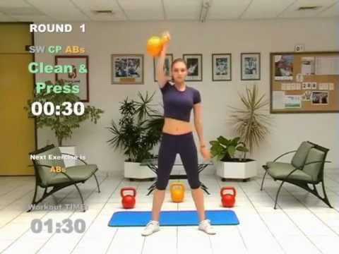 KETTLEBELL 20-Minute-CARDIO WORKOUT - FAT LOSS Image 1