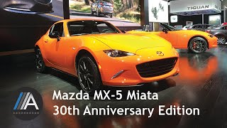 Mazda Miata 30th Anniversary Edition Fast Facts