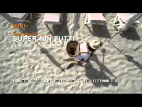 Canzone pubblicita Wind estate 2011 con  Aldo Giovanni e Giacomo in spiaggia