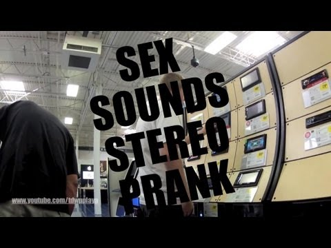 Sex Sounds Stereo Prank video
