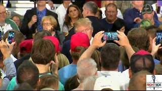 Donald Trump Offers To Personally Help Wounded Vet in Iowa (10-27-15)