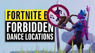 Fortnite | Dance in Different Forbidden Locations Guide | Season 7 Week 1