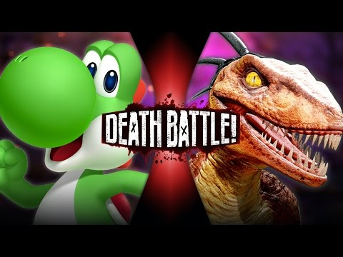 DEATH BATTLE! - Yoshi VS Riptor
