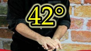 42° Vanishing Coin Easy Magic Tricks Tutorial