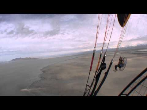 Paramotor Comparison Review Flat Top Ninja vs Parajet Rotron 294 Powered Paragliding Climb Test!!