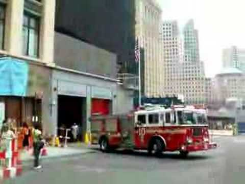 FDNY Tenhouse (Engine 10 & Ladder 10) responding Video
