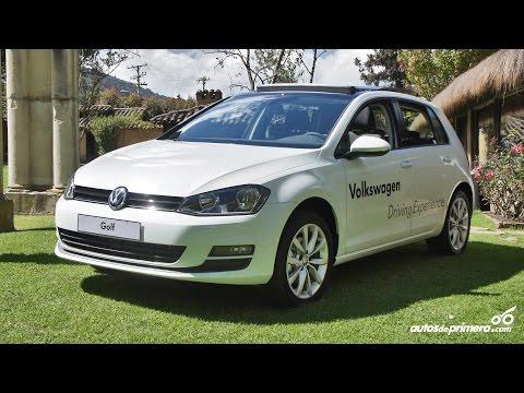 Lanzamiento nuevo Volskwagen Golf 2015 en Colombia.