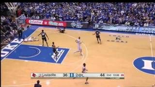 Grayson Allen Intentionally Trips a Louisville Player Earns Flagrant 1