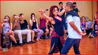 Despacito - Zouk Dance by Kadu Pires & Larissa Thayane at Zouk Atlanta