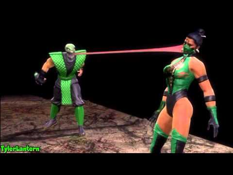 MK9 - Reptile Classic Fatality (Retro Fatality) - Mortal Kombat 9 (2011)