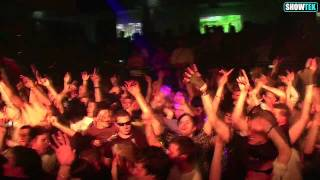 Zagreb Croatia 12 December 2009 - Showtek Official after movie. HD Video.