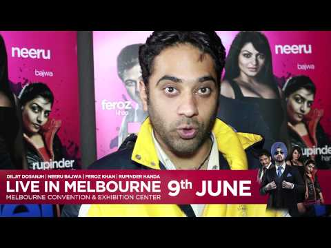 Kulbir Cam | Sizzlin Roadshow Promotions | Jatt And Juliet Tour video