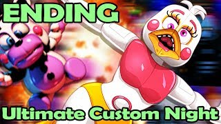 it's OVER for YANDERE CHICA! ENDING Fnaf Ultimate Custom Night! (Unlocking Anime Cutscenes)