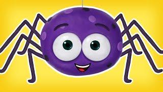Itsy Bitsy Araña   Canciones Infantiles   Cartoon for kids
