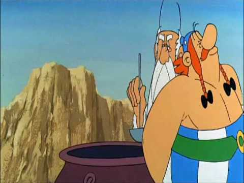 Asterix and Cleopatra (part 3). English