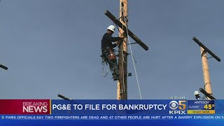 Embattled PG&E To File For Chapter 11 Bankruptcy