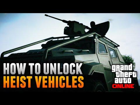 GTA 5 Online - How To Unlock ALL Heist Cars & Vehicles! (GTA 5 Heist DLC Update)