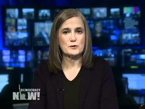 Democracy Now over Bahrein Libie Gadaffi Iran Europa 1/4