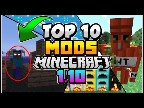 TOP 10 BEST Minecraft Mods for Minecraft 1.10 (Top 10 Mods of 2016)