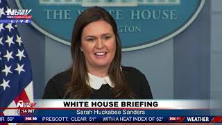 FULL WHITE HOUSE BRIEFING: Sarah Sanders Responds to Flynn; McSally Appontment