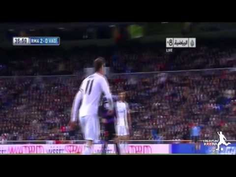 [HD] Gareth Bale Perfect Hattrick | Real Madrid Vs. Valladolid | Real Madrid Valladolid 30-11-13