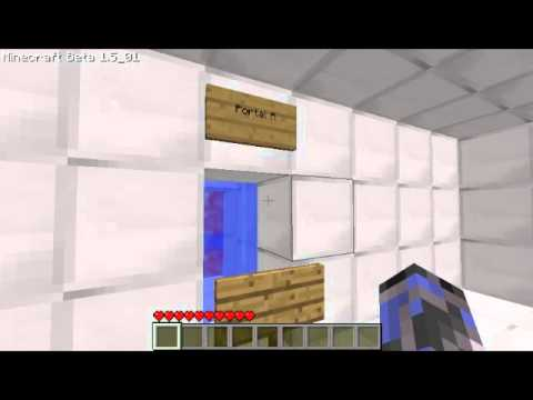 Minecraft: Portal (No Mods)