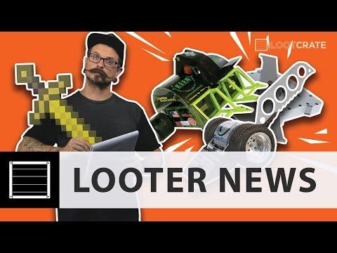 Looter News: Educational Minecraft, Battlebots Update