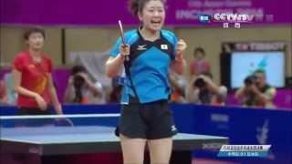 【卓球愛ちゃん】世界ランク1位の丁寧を0-7から逆転勝利した試合