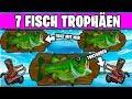 Fortnite tanze 7 Fischtrophäen 🐟 Tontauben   Woche 8 Geheimer Stern Banner Herausforderungen
