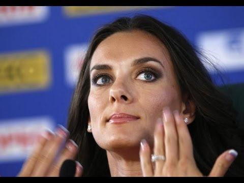 Yelena Isinbayeva on Russia Anti-Gay Laws for Olympics