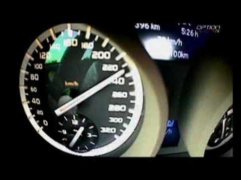 265 km/h en Mercedes SLK 55 AMG (Option Auto)